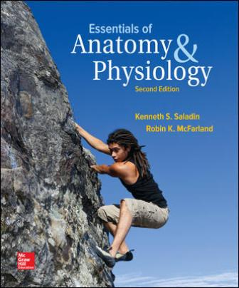 Test Bank for Essentials of Anatomy & Physiology 2nd Edition Saladin