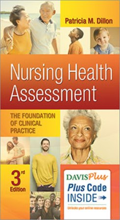 Test Bank for Nursing Health Assessment 3rd Edition Dillon