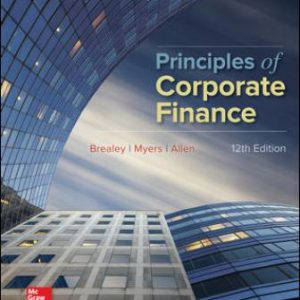 Test Bank for Principles of Corporate Finance 12th Edition Brealey