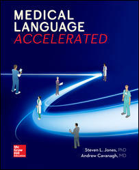 Test Bank for Medical Language Accelerated 1st Edition By Steven Jones