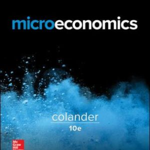 Test Bank for Microeconomics 10th Edition Colander