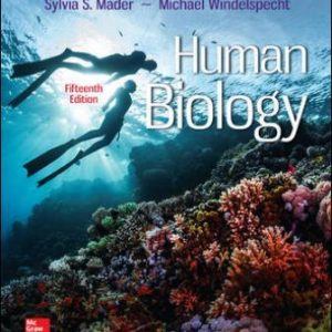 Solution Manual for Human Biology 15th Edition Mader