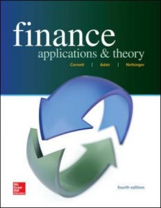 Solution Manual for Finance: Applications and Theory 4th Edition Cornett