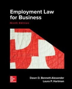 Solution Manual for Employment Law for Business 9th Edition Bennett-Alexander