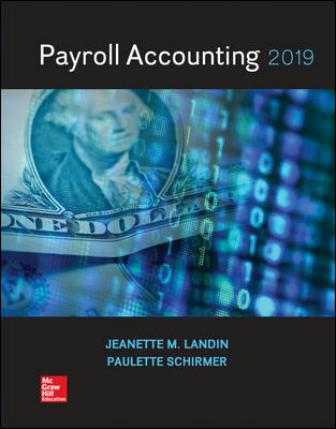 Test Bank for Payroll Accounting 2019 5th Edition Landin