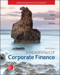 Solution Manual for Fundamentals of Corporate Finance 12th Edition Ross