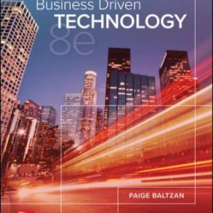 Solution Manual for Business Driven Technology 8th Edition Baltzan