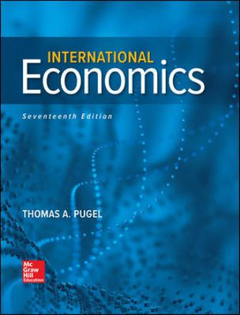 Test Bank for International Economics 17th Edition Pugel