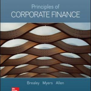 Test Bank for Principles of Corporate Finance 13th Edition Brealey