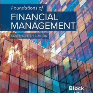 Test Bank for Foundations of Financial Management 17th Edition Block