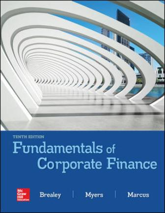 Test Bank for Fundamentals of Corporate Finance 10th Edition Brealey