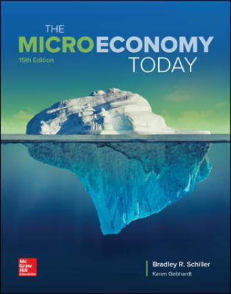 Solution Manual for The Micro Economy Today 15th Edition Schiller