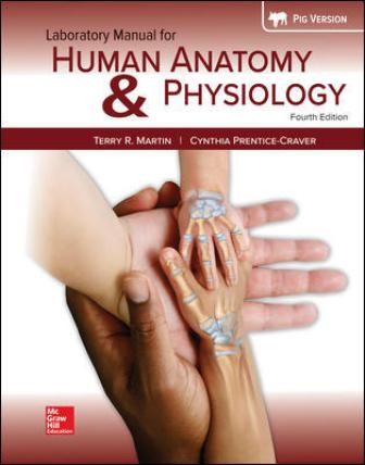Test Bank for Human Anatomy & Physiology Fetal Pig Version 4th Edition Martin