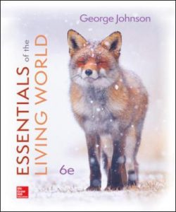 Test Bank for Essentials of The Living World 6th Edition Johnson