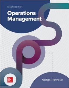 Solution Manual for Operations Management 2nd Edition Cachon