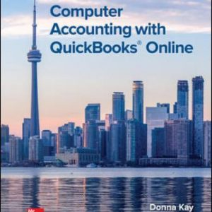 Solution Manual for Computer Accounting with QuickBooks Online 1st Edition Kay
