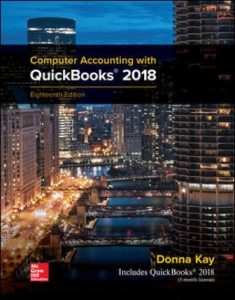 Solution Manual for Computer Accounting with QuickBooks 2018 18th Edition Kay