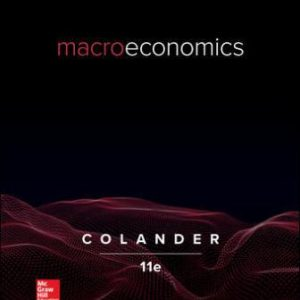Solution Manual for Macroeconomics 11th Edition Colander