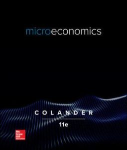 Test Bank for Microeconomics 11th Edition Colander