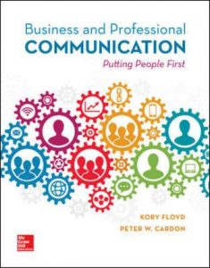 Test Bank for Business and Professional Communication 1st Edition Floyd