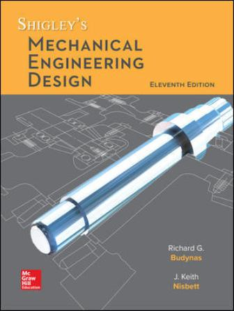 Solution Manual for Shigley's Mechanical Engineering Design 11th Edition Budynas