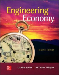 Solution Manual for Engineering Economy 8th Edition Blank
