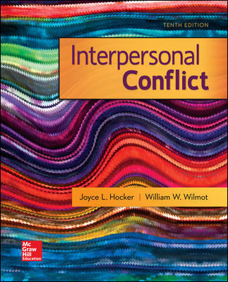 Test Bank for Interpersonal Conflict 10th Edition Wilmot