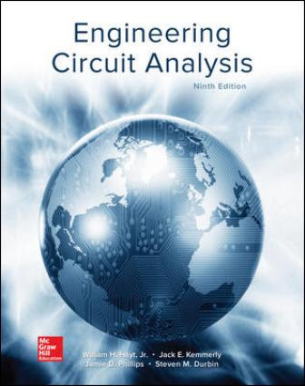 Test Bank for Engineering Circuit Analysis 9th Edition Hayt