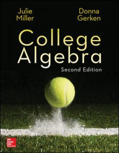 Solution Manual for College Algebra 2nd Edition Miller