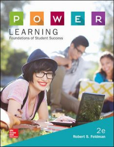 Test Bank for P.O.W.E.R. Learning: Foundations of Student Success 2nd Edition Feldman