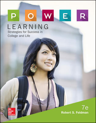 Test Bank for P.O.W.E.R. Learning: Strategies for Success in College and Life 7th Edition Feldman
