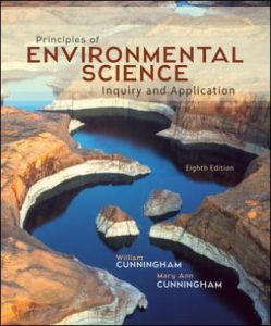 Test Bank for Principles of Environmental Science 8th Edition Cunningham