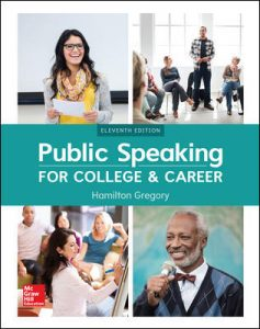 Test Bank for Public Speaking for College and Career 11th Edition Gregory