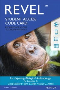 Test Bank for Exploring Biological Anthropology: The Essentials 4th Edition Stanford