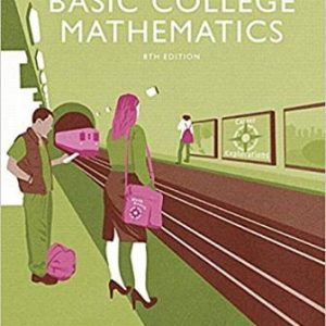 Solution Manual for Basic College Mathematics 8th Edition Tobey