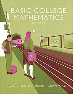 Test Bank for Basic College Mathematics 8th Edition Tobey