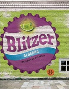 Test Bank for Algebra for College Students 8th Edition Blitzer