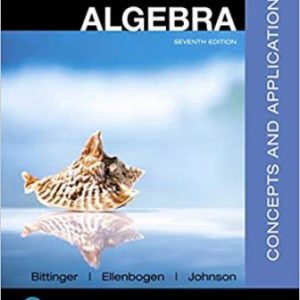 Test Bank for Elementary and Intermediate Algebra Concepts and Applications 7th Edition Bittinger