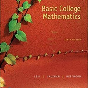 Test Bank for Basic College Mathematics 10th Edition Lial