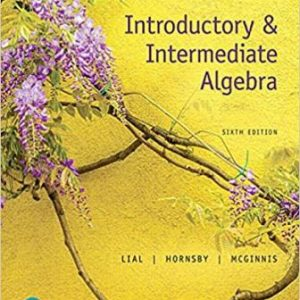 Solution Manual for Introductory & Intermediate Algebra 6th Edition Lial