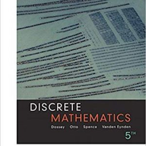 Solution Manual for Discrete Mathematics 5th Edition Dossey