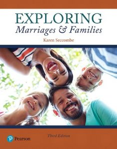 Test Bank for Exploring Marriages and Families 3rd Edition Seccombe