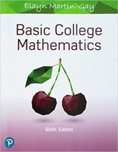 Solution Manual for Basic College Mathematics 6th Edition Martin-Gay