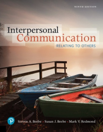 Test Bank for Interpersonal Communication Relating to Others 9th Edition Beebe
