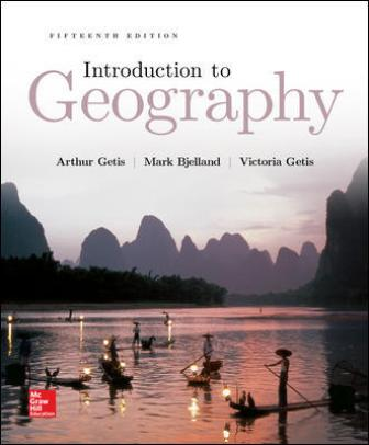 Test Bank for Introduction to Geography 15th Edition Getis