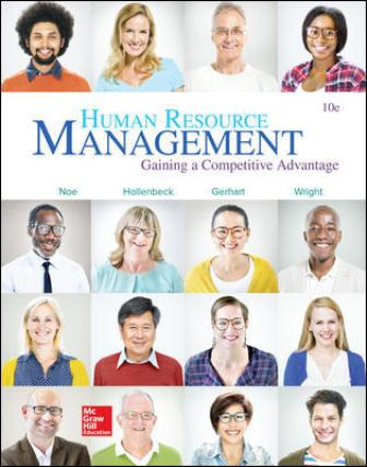 Test Bank for Human Resource Management 10th Edition Noe