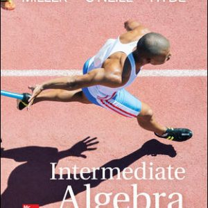 Solution Manual for Intermediate Algebra 5th Edition Miller