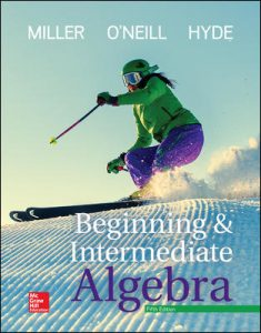Test Bank for Beginning and Intermediate Algebra 5th Edition Miller