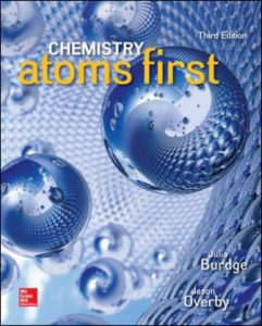 Solution Manual for Chemistry: Atoms First 3rd Edition Burdge