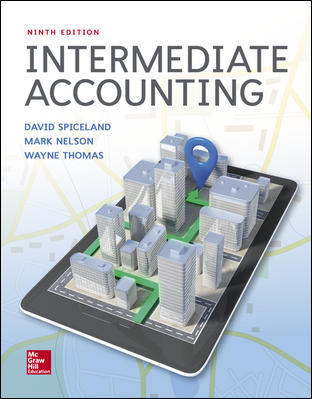 Test Bank for Intermediate Accounting 9th Edition Spiceland